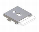 Verosol / Luxaflex pleated blind top fixing bracket ( push )