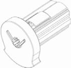 Luxaflex rolgordijn bedieningsmechanisme 25 mm links 1 X