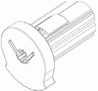 Luxaflex rolgordijn bedieningsmechanisme 34 mm links 1 X