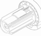 Luxaflex rolgordijn bedieningsmechanisme 25 mm rechts 1 X