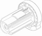 Luxaflex rolgordijn bedieningsmechanisme 34 mm rechts 1 X