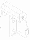 Luxaflex rolgordijn Draai-/kiepraamsteun zonder zijgeleiding 1 X