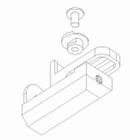 Luxaflex rolgordijn Draai-/kiepraamsteun onderkant spandr 1 X