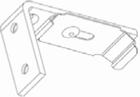 Luxaflex rolgordijn casette plafonsteun met clip 1 X